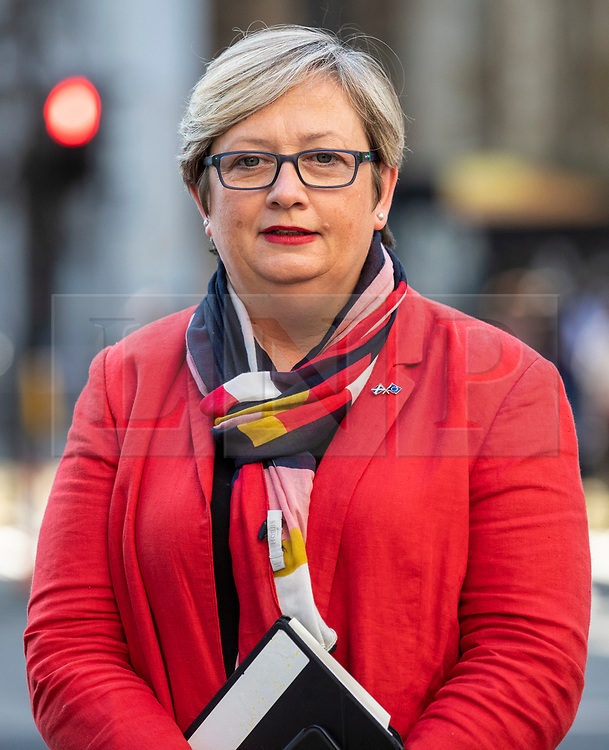 © Licensed to London News Pictures. 19/09/2019. London, UK. SNP MP Joanna Cherry arrives at the Supreme Court in London for the third day of the hearing into the legality of the prorogation of Parliament. The case has been brought by remain campaigner Gina Miller, with support from former British Prime Minister John Major. Photo credit: Rob Pinney/LNP