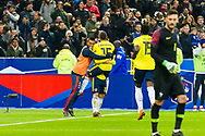 Juan ferando Quintero (col) celabrated his goal during the International Friendly Game football match between France and Colombia on march 23, 2018 at Stade de France in Saint-Denis, France - Photo Pierre Charlier / ProSportsImages / DPPI