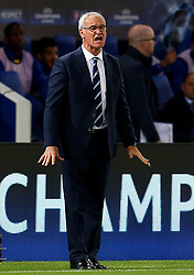 Leicester City manager Claudio Ranieri shouts - Mandatory by-line: Matt McNulty/JMP - 27/09/2016 - FOOTBALL - King Power Stadium - Leicester, England - Leicester City v FC Porto - UEFA Champions League