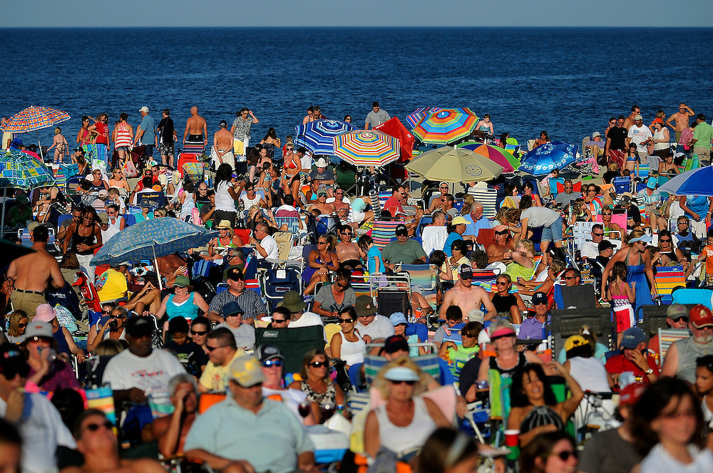The large audience listens to the music of Brian Kirk and The Jirks during a Summer Concert held at Sandy Hook on July 13. The free concert was sponsored by the Sandy Hook Foundation. Photo essay from throughout the Jersey Shore, New Jersey
