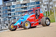 Rapid Racing VIC #20 Wingless Sprint Race car.Shot on location in Lorimer St, Docklands, Victoria.2nd of October 2010.(C) Joel Strickland Photographics.Use information: This image is intended for Editorial use only (e.g. news or commentary, print or electronic). Any commercial or promotional use requires additional clearance.