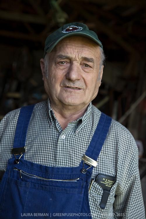 Organic farmer Wilhelm Pfenning.