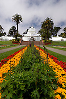 Golden Gate Park Conservatory of Flowers, San Francisco, California