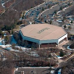 Aerial view of George Mason University, Fairfax, Virginia