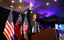 June 20, 2017 - Atlanta, Georgia, U.S. - Democratic candidate Jon Ossoff waves goodbye to the crowd during his election night party at the Westin Atlanta Perimeter Hotel in Atlanta. (Credit Image: © Jason Getz/TNS via ZUMA Wire)