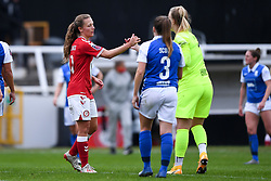 Charlie Wellings of Bristol City Women - Mandatory by-line: Ryan Hiscott/JMP - 18/10/2020 - FOOTBALL - Twerton Park - Bath, England - Bristol City Women v Birmingham City Women - Barclays FA Women's Super League