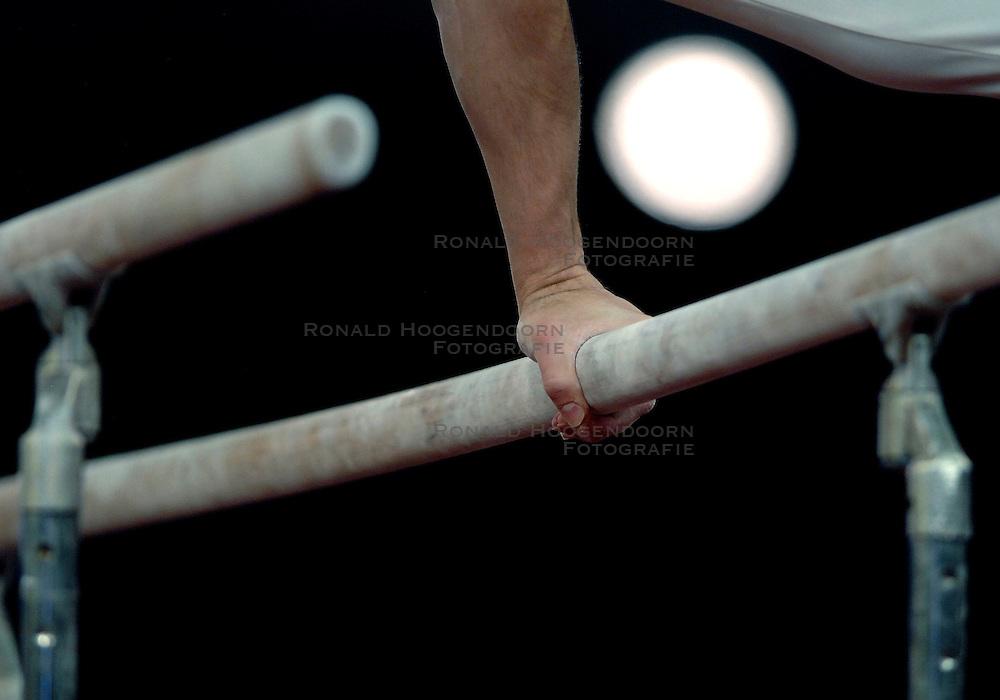 27-04-2007 TURNEN: EUROPEES KAMPIOENSCHAP: AMSTERDAM<br /> Turn grepen standen items ringen creative illustratief<br /> ©2007-www.fotohoogendoorn.nl