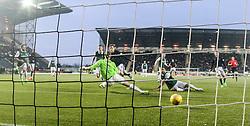 Falkirk 1 v 1 Hibernian, Scottish Championship game played 17/1/2015 at The Falkirk Stadium.