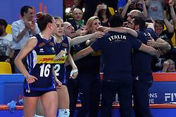 L'ITALIA ESULTA<br /> ITALIA - SERBIA<br /> PALLAVOLO VNL VOLLEY FEMMINILE 2019<br /> CONEGLIANO (TV) 30-05-2019<br /> FOTO GALBIATI - RUBIN
