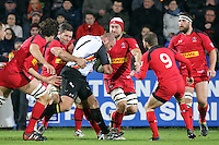 Rugby test match between Romania and Canada, on National Stadium Arc de Triomphe in Bucharest, November 22, 2014.