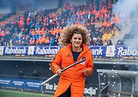 Den Bosch - Rabo fandag 2019 . hockey clinics met de spelers van het Nederlandse team. opkomst van international Maria Verschoor (Ned) .   COPYRIGHT KOEN SUYK