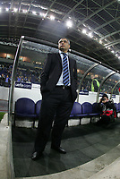 """PORTUGAL - PORTO 23 FEBRUARY 2005: JOSE COUCEIRO, FC Porto coach, First Knock-out Round First Leg of the UEFA Champions League, match FC Porto (#) vs FC Internazionale (#), held in """"Dragao"""" stadium  23/02/2005  19:25:30<br />(PHOTO BY: NUNO ALEGRIA/AFCD)<br /><br />PORTUGAL OUT, PARTNER COUNTRY ONLY, ARCHIVE OUT, EDITORIAL USE ONLY, CREDIT LINE IS MANDATORY AFCD-PHOTO AGENCY 2004 © ALL RIGHTS RESERVED"""