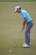 Kevin Kisner (USA) sinks his putt on 2 during day 5 of the World Golf Championships, Dell Match Play, Austin Country Club, Austin, Texas. 3/25/2018.<br /> Picture: Golffile | Ken Murray<br /> <br /> <br /> All photo usage must carry mandatory copyright credit (© Golffile | Ken Murray)