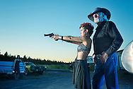 American Dreamscapes /  Gunland<br /> <br /> Bend,Oregon, USA,2103