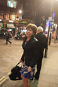 KATHY LETTE, The press night performance of the Menier Chocolate Factory's 'Merrily We Roll Along', following its transfer to the Harold Pinter Theatre, After-show party at Grace Restaurant, Gt. Windmill St. London. 1 May 2013.