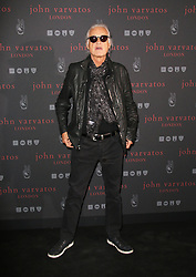 © Licensed to London News Pictures. 03/09/2014, UK. Jimmy Page, Led Zeppelin, John Varvatos - Flagship European London store launch party, Conduit Street, London UK, 03 September 2014. Photo credit : Richard Goldschmidt/Piqtured/LNP