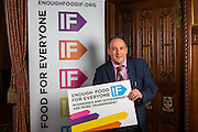 Robert Halfon MP.supporting the Enough Food for Everyone?IF campaign. .MP's and Peers attended the parliamentary launch of the IF campaign in the State Rooms of Speakers House, Palace of Westminster. London, UK.