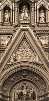"""Cathedral of Santa Maria del Fiore Holy Door - Florence – BW""…"