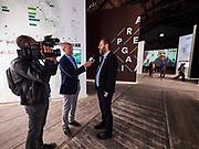 """FREESPACE - 16th Venice Architecture Biennale. Arsenale. Italy, """"Arcipelago Italia""""."""
