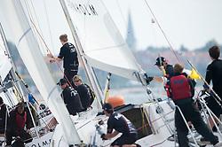 Final- Minoprio vs Mirsky. Danish Open 2010, Bornholm, Denmark. World Match Racing Tour. photo: Loris von Siebenthal - WMRT