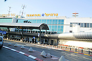 Israel, Ben-Gurion international Airport Entrance to Terminal 1