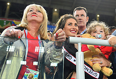 WAGs At Colombia vs England - 03 July 2018