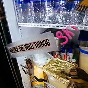 Where the Wild Things Ski...Corbet's Cabin fridge.