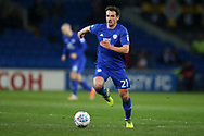 Craig Bryson of Cardiff City in action. EFL Skybet championship match, Cardiff city v Barnsley at the Cardiff city stadium in Cardiff, South Wales on Tuesday 6th March 2018.<br /> pic by Andrew Orchard, Andrew Orchard sports photography.