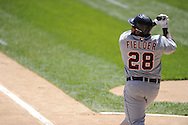 CHICAGO - MAY 15:  Prince Fielder #28 of the Detroit Tigers bats against the Chicago White Sox on May 15, 2012 at U.S. Cellular Field in Chicago, Illinois.  The Tigers defeated the White Sox 10-8.  (Photo by Ron Vesely)   Subject:   Prince Fielder
