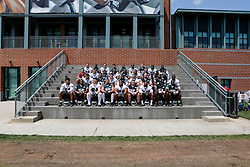A Group Photo of the players who attended the Philadelphia Eagles NFL football rookie camp at the teams practice facility on Saturday, May 17, 2014. (Photo by Brian Garfinkel)