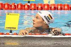 20.08.2014, Europa Sportpark, Berlin, GER, LEN, Schwimm EM 2014, Ruecken, im Bild Lisa Graf (Deutschland) // during the LEN 2014 European Swimming Championships at the Europa Sportpark in Berlin, Germany on 2014/08/20. EXPA Pictures © 2014, PhotoCredit: EXPA/ Eibner-Pressefoto/ Lau<br /> <br /> *****ATTENTION - OUT of GER*****