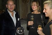 ORI KAFRI, ( WINNER HOTEL OF YEAR)  REBECCA LOOS AND VANESSA MIEDLER, The Tatler Travel Awards 2008. The Ritz, Piccadilly. London. 3 December 2007. -DO NOT ARCHIVE-© Copyright Photograph by Dafydd Jones. 248 Clapham Rd. London SW9 0PZ. Tel 0207 820 0771. www.dafjones.com.