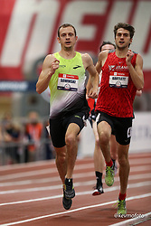 2020 USATF Indoor Championship<br /> Albuquerque, NM 2020-02-15<br /> photo credit: © 2020 Kevin Morris<br /> mens 800m, Brooks