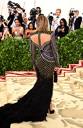 Jennifer Lopez attending the Metropolitan Museum of Art Costume Institute Benefit Gala 2018 in New York, USA