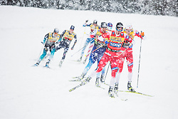 Haavard Solaas Taugboel (NOR) during the man team sprint race at FIS Cross Country World Cup Planica 2019, on December 22, 2019 at Planica, Slovenia. Photo By Peter Podobnik / Sportida