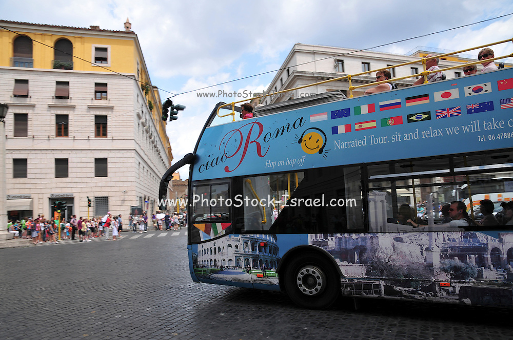 Vatican City, Rome, Italy sightseeing bus