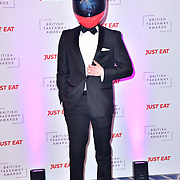 Derrick - Just Eat attend the British Takeaway Awards 2020 on 27th January 2020, Savoy Hotel, Strand, London, UK.