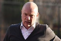 Fleetwood Town manager Uwe Rosler arrives prior to the match