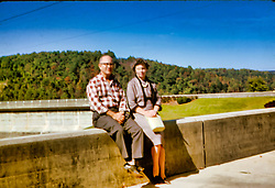 George & Ila Look - Kentucky, Tennessee or North Carolina - 1962<br /> <br />  Photos taken by George Look.  Image started as a color slide.