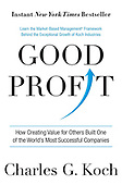 "October 13, 2015 - WORLDWIDE: Charles Koch ""Good Profit"" Book Release"