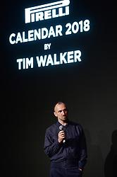 November 10, 2017 - New York, NY, USA - November 10, 2017  New York City..Tim Walker attending the Pirelli Calendar by Tim Walker photocall on November 10, 2017 in New York City. (Credit Image: © Kristin Callahan/Ace Pictures via ZUMA Press)