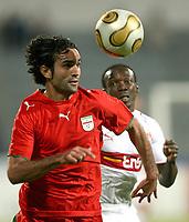 Fotball<br /> Bundesliga <br /> 10.01.2007<br /> Foto: Witters/Digitalsport<br /> NORWAY ONLY<br /> <br /> v.l. Piroz Ghorbani, Arthur Boka Stuttgart<br /> Fussball Dubai Challenge 2007 Iran - VfB Stuttgart