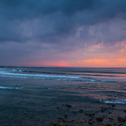 Today's  winter sunrise at Narragansett Town Beach,  .  May  11, 2013.