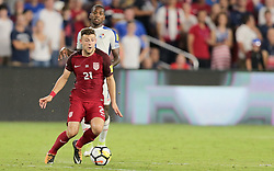 October 6, 2017 - Orlando, Florida, United States - Orlando, FL - Friday Oct. 06, 2017: Paul Arriola during a 2018 FIFA World Cup Qualifier between the men's national teams of the United States (USA) and Panama (PAN) at Orlando City Stadium. (Credit Image: © John Dorton/ISIPhotos via ZUMA Wire)