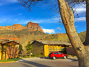 Southwestern Utah,  hotel, Town of Springdale, Zion NP