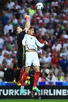 Igor Akinfeev Russia, Chris Smalling England <br /> Marseille 11-06-2016 Stade Velodrome Footballl Euro2016 England - Russia  / Inghilterra - Russia Group Stage Group B. Foto Massimo Insabato / Insidefoto