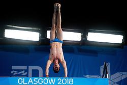 August 6, 2018 - Edinburgh, UNITED KINGDOM - 180806 Vinko Paradzik of Sweden competes in the final of the team event 3m/10m diving during the European Championships on August 6, 2018 in Edinburgh..Photo: Jon Olav Nesvold / BILDBYRÃ…N / kod JE / 160287 (Credit Image: © Jon Olav Nesvold/Bildbyran via ZUMA Press)