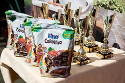 Tenis Fest Trophy ceremony during ATP Challenger Zavarovalnica Sava Slovenia Open 2019, day 7, on August 15, 2019 in Sports centre, Portoroz/Portorose, Slovenia. Photo by Vid Ponikvar / Sportida