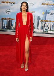 Spider-Man: Homecoming Premiere at The TCL Chinese Theatre in Hollywood, California. 28 Jun 2017 Pictured: Laura Harrier. Photo credit: River / MEGA TheMegaAgency.com +1 888 505 6342