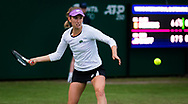 Elise Mertens of Belgium in action against Cori Gauff of the United States during the first round at the 2021 Viking International WTA 500 tennis tournament on June 22, 2021 at Devonshire Park Tennis in Eastbourne, England - Photo Rob Prange / Spain ProSportsImages / DPPI / ProSportsImages / DPPI